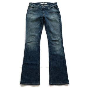 Joe's Women's Jeans Boot Cut Distressed Denim